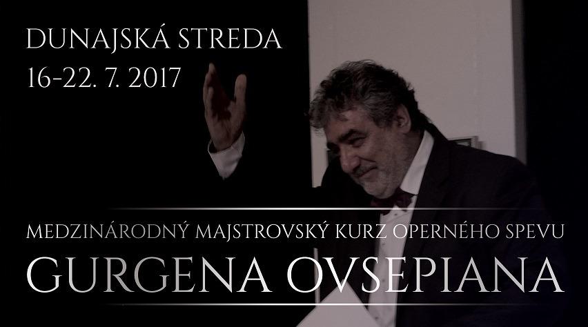 Medzinárodný Majstrovský Kurz Operného Spevu