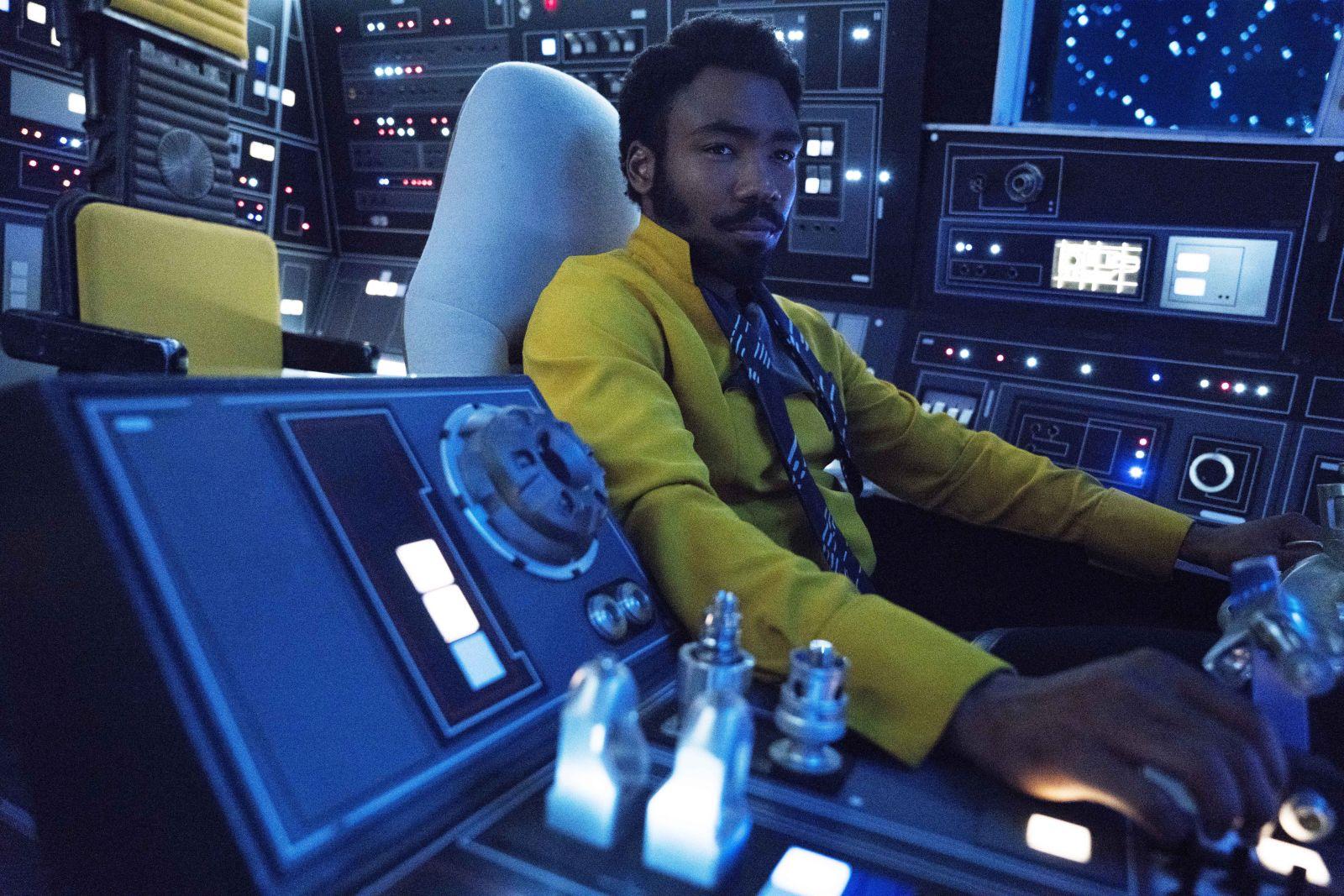 Lando Calrissian (Donald Glover)