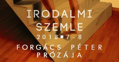 Irodalmi Szemle 2018/7–8