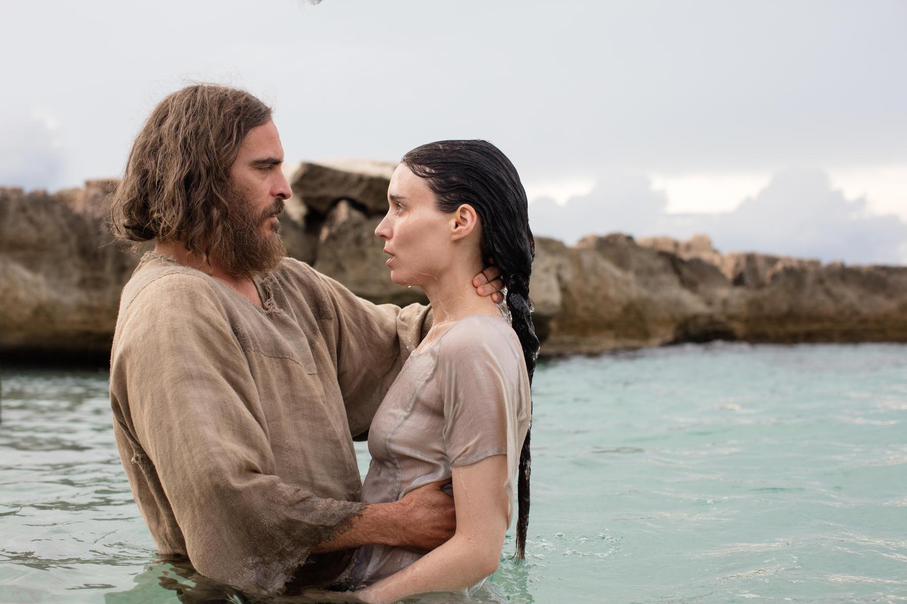 Joaquin Phoenix és Rooney Mara