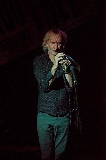 Erik Truffaz (Fotó: Kovács Attila)