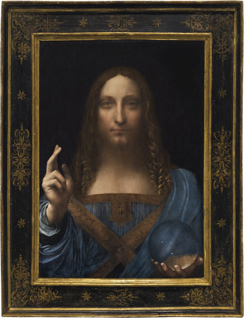 Leonardo da Vinci: Salvatore Mundi